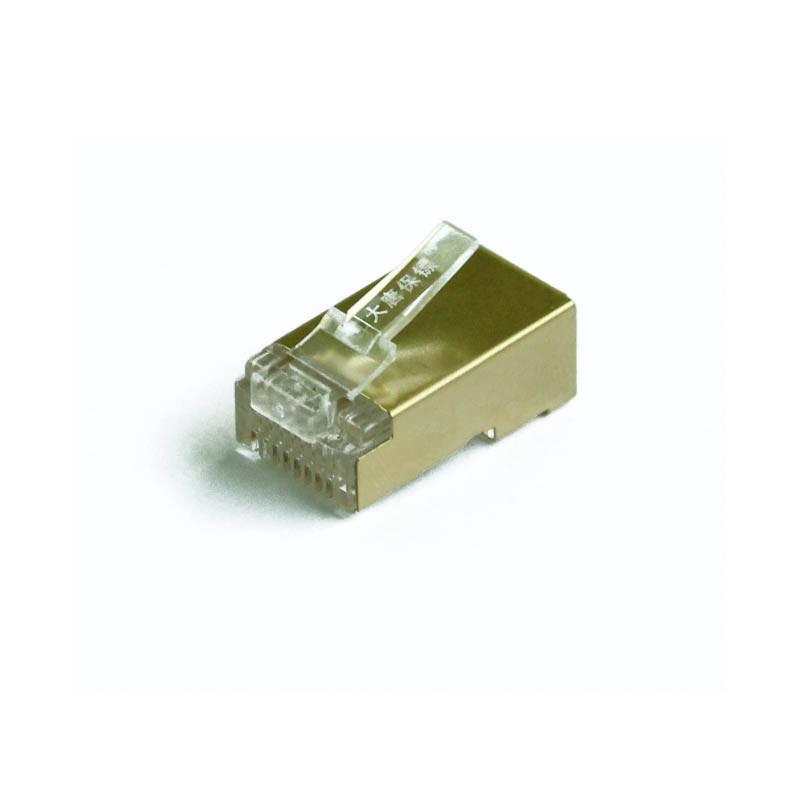 大唐保镖超五类镀金屏蔽水晶头DT2802-5DP