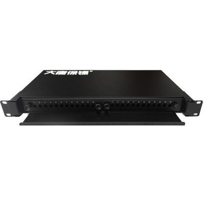 大唐保镖抽拉式光纤终端盒 24芯 LC SC ST FC 熔接盒DT1817-24